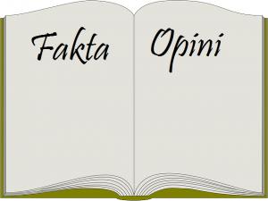 Ciri-ciri Fakta dan Opini serta Contohnya