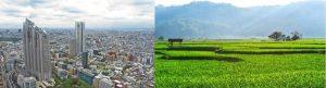 bagaimana kehidupan ekonomi masyarakat kota dan masyarakat desa